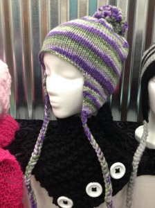 Knitted Ear Flap Beanie