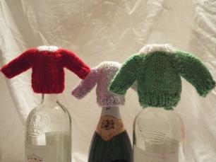 Tiny raglan sweater ornaments
